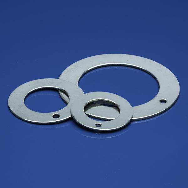NN-010 W Anlaufscheiben selbstschmierend, mit Stahlrücken
