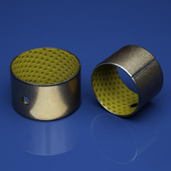 NN-020 Buchsen zylindrisch wartungsarm , mit verkupferten Stahlrücken